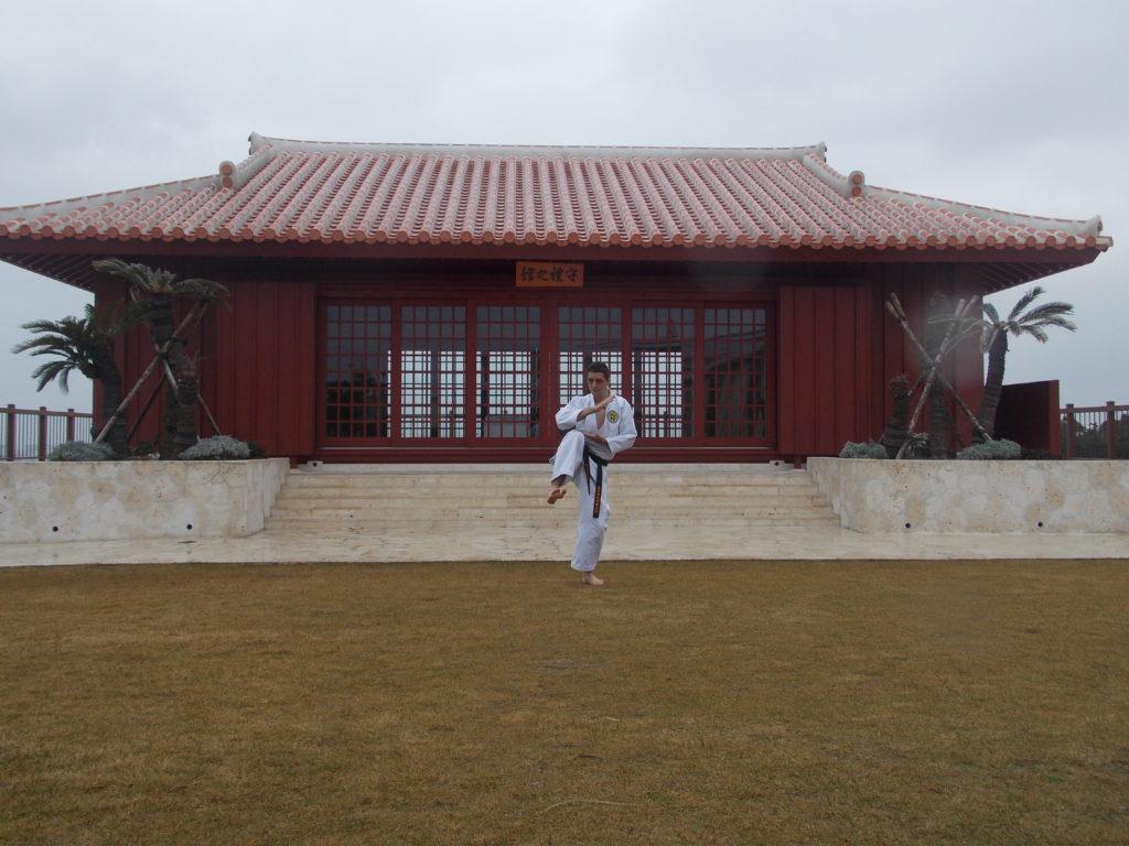 Dojo especial no Karate Kaikan