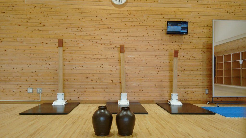 Sala de treinamento.